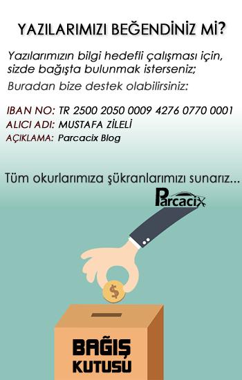 Parcacix BLOG Bağış kutusu | Parcacix BLOG